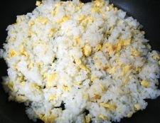 鮭レタスチャーハン 調理④
