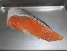鮭レタスチャーハン 材料①