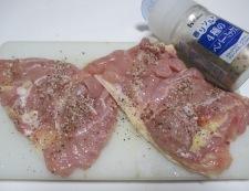 チーズ焼きチキン 調理①