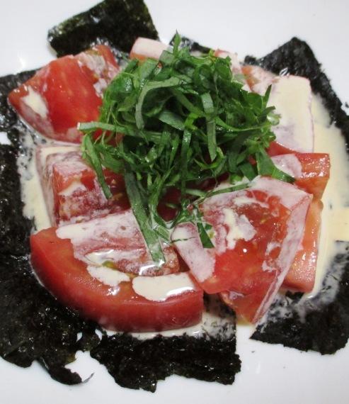 海苔トマト B