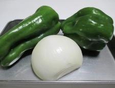 豚肉とピーマンの味噌炒め 材料②