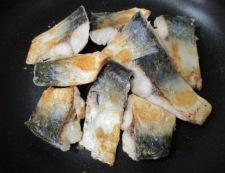 サバのしょうが焼き 調理⑤