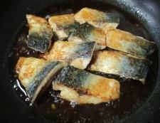 サバのしょうが焼き 調理⑥