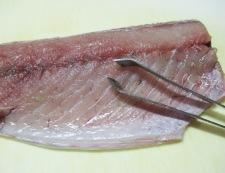 サバのしょうが焼き 調理①