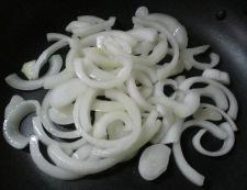 青梗菜と豚こまのピリ辛炒め 調理③