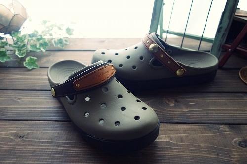 crocs改造後
