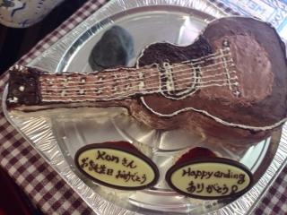 ギターケーキ