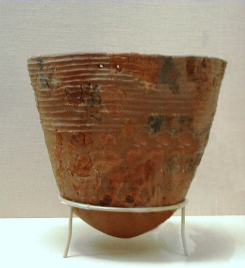 縄文土器深鉢