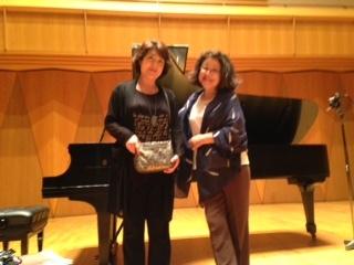 録音先生と久恵さん