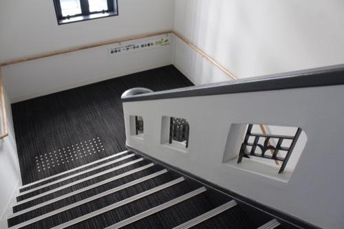 0245:旧豊岡町役場 階段①