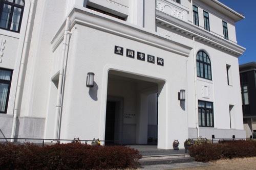 0245:旧豊岡町役場 玄関①