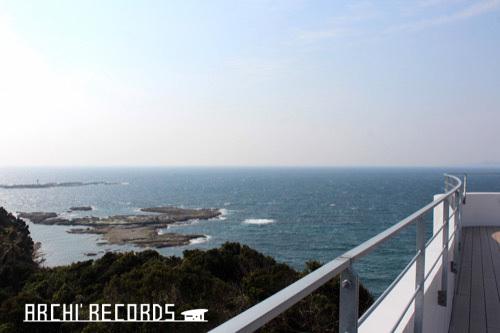0247:南方熊楠記念館 展望台から海を望む