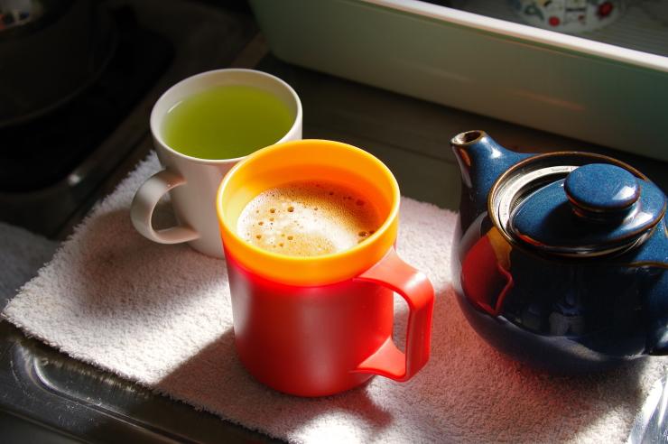 今朝の茶事