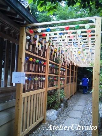 170618氷川神社風鈴