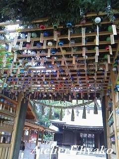 170629氷川神社風鈴