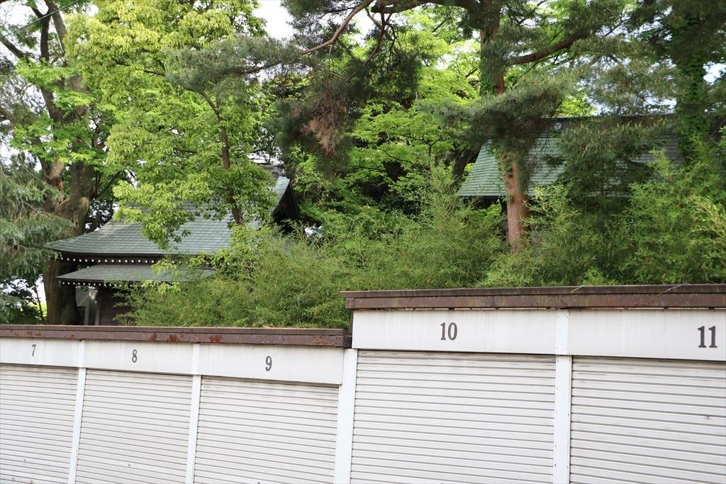 この一画は、熊野神社のすぐ近くだ