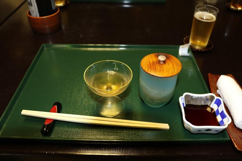 食前酒と先付_1