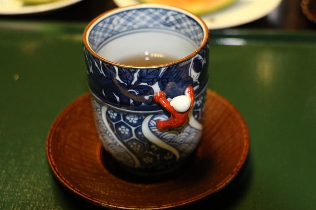 お茶碗がかわいいものだった
