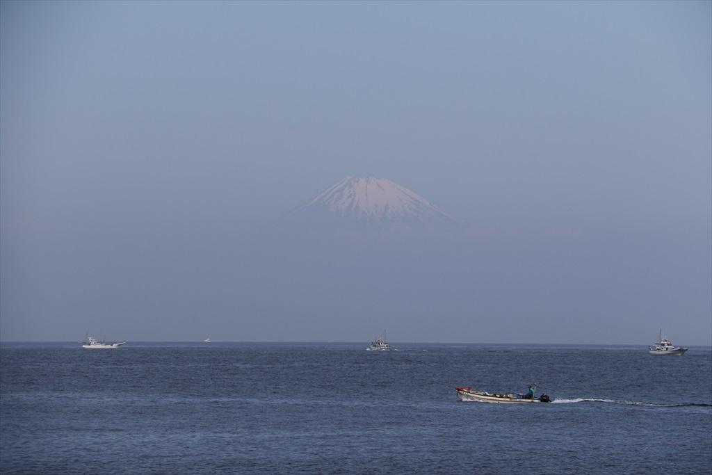 そしてその先には富士山が_2