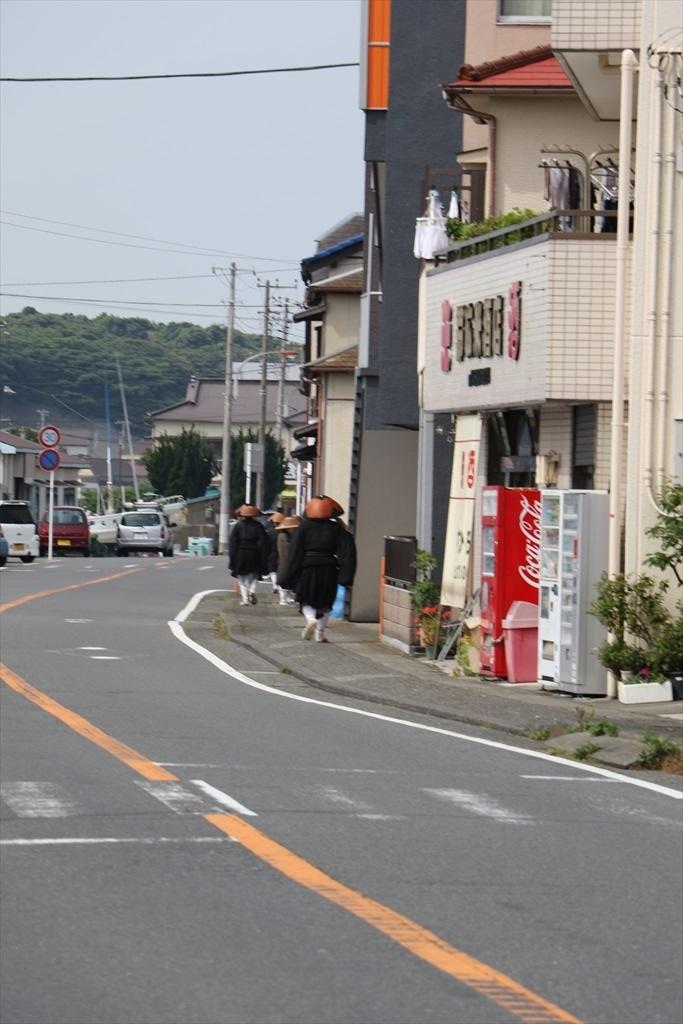 円覚寺の雲水さんたちを見かける_2