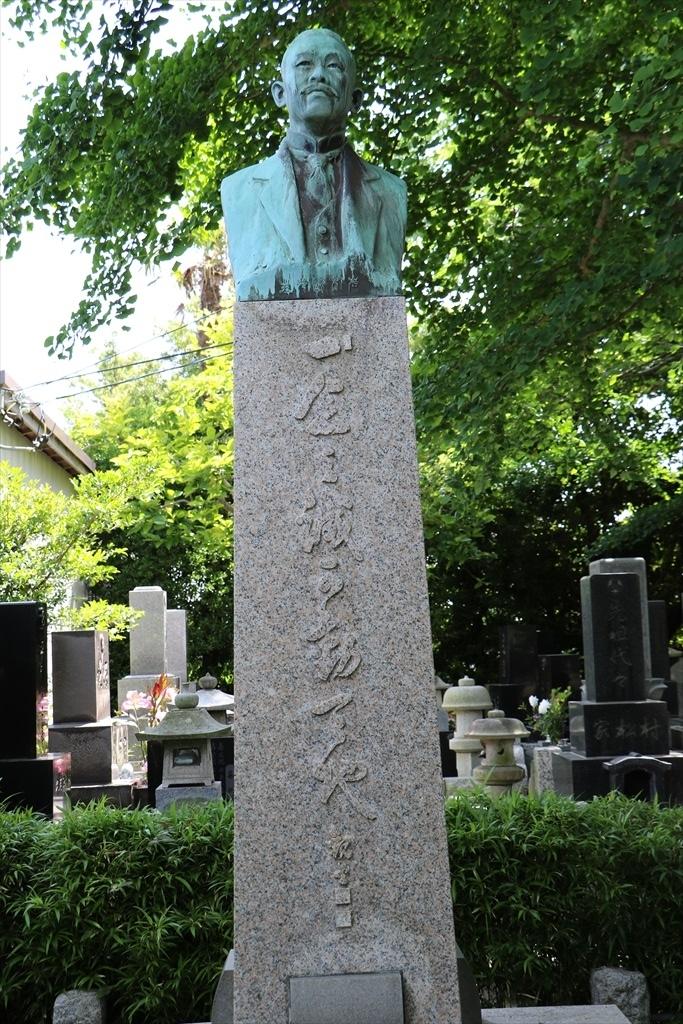 岩村透男爵の銅像_1
