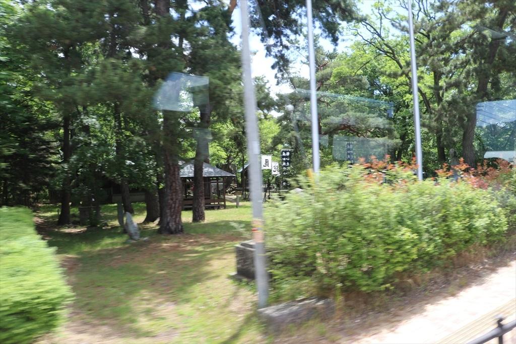 川中島の古戦場跡も通過_1
