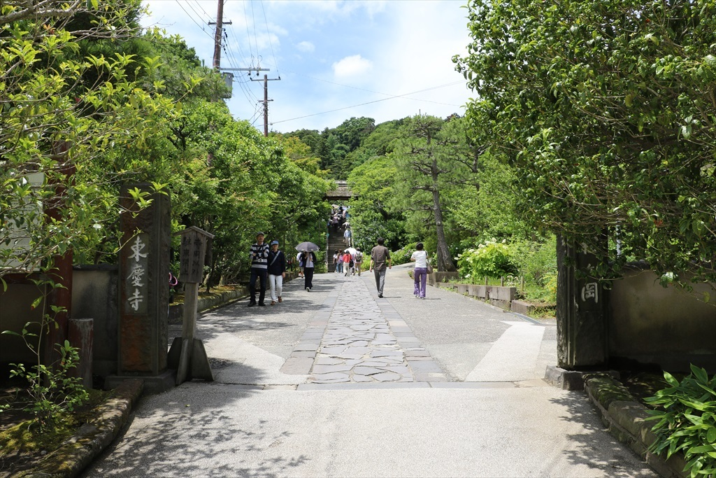 東慶寺は、明月院に比べれば、落ち着いてみることができそうだ_2