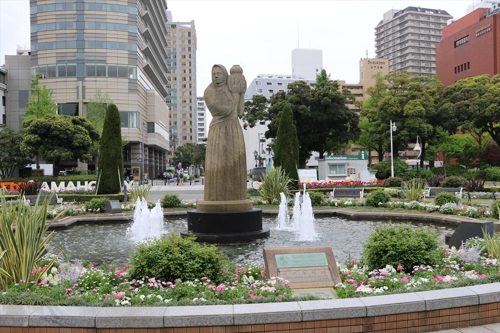 横浜・サンディエゴ姉妹都市25周年記念碑ほか_2