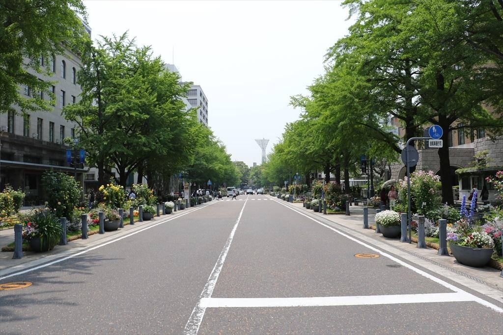 日本大通りを横切る_2