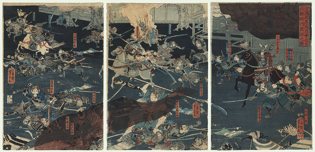 堀川夜討の画