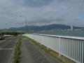 170505矢橋帰帆島から大津が見えてくる