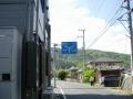 170505関津峠から大石を左折し国道422に合流