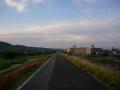 170604日の出も近い木津川CRを木津方面へ