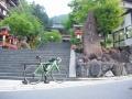 170610鞍馬寺から本格登坂開始