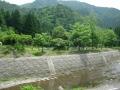 170610県境のルアー釣り堀はアングラーでいっぱい