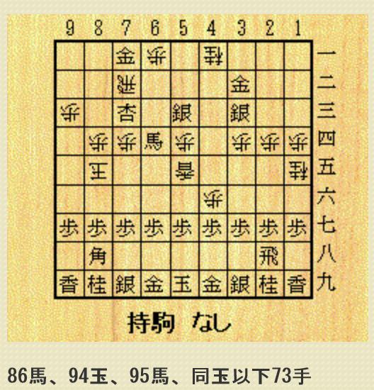 実戦初型詰将棋