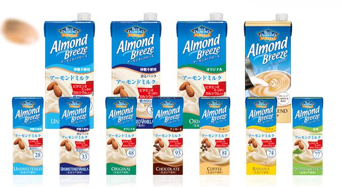 アーモンドミルク種類