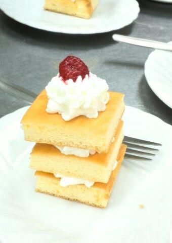待望のケーキ!