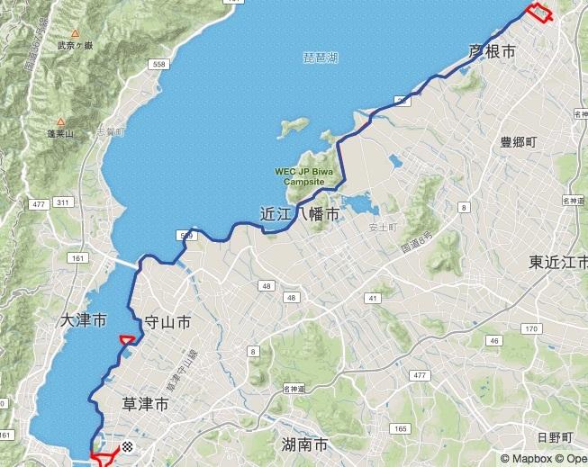 彦根から帰帆島