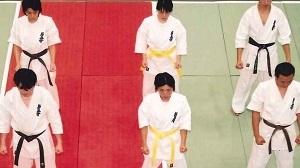 原田(型試合上から写真)
