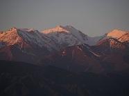 P201761、ホテルからキルギス山脈