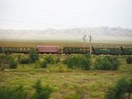 P201763、60両編成の貨物列車