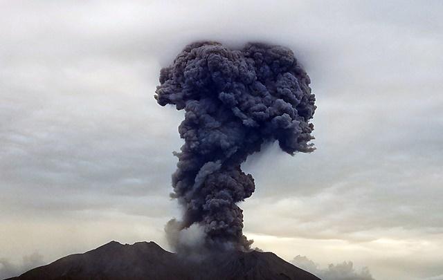 桜島噴煙20170606-1