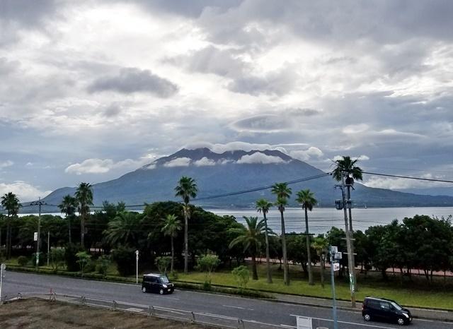 桜島 面白雲1