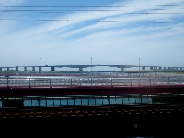 浜名大橋 1 東海道線から 2017 6 14 P1000200