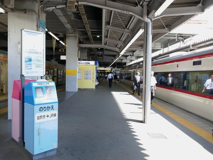 豊橋駅ホーム 1 豊橋駅にて 2017 6 13 P1000131