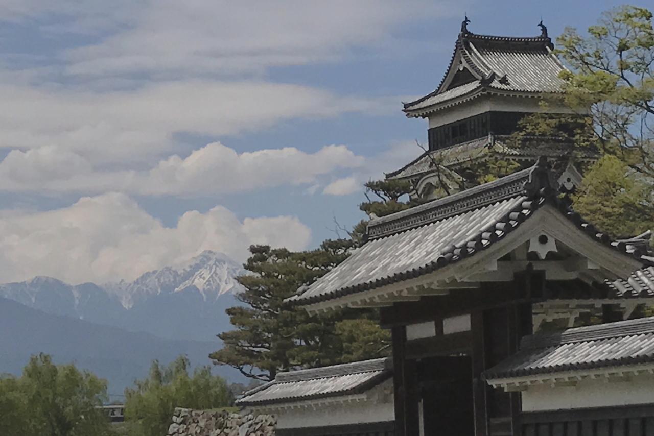 松本城アルプス