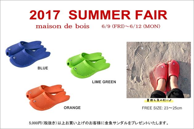 2017 summer fair