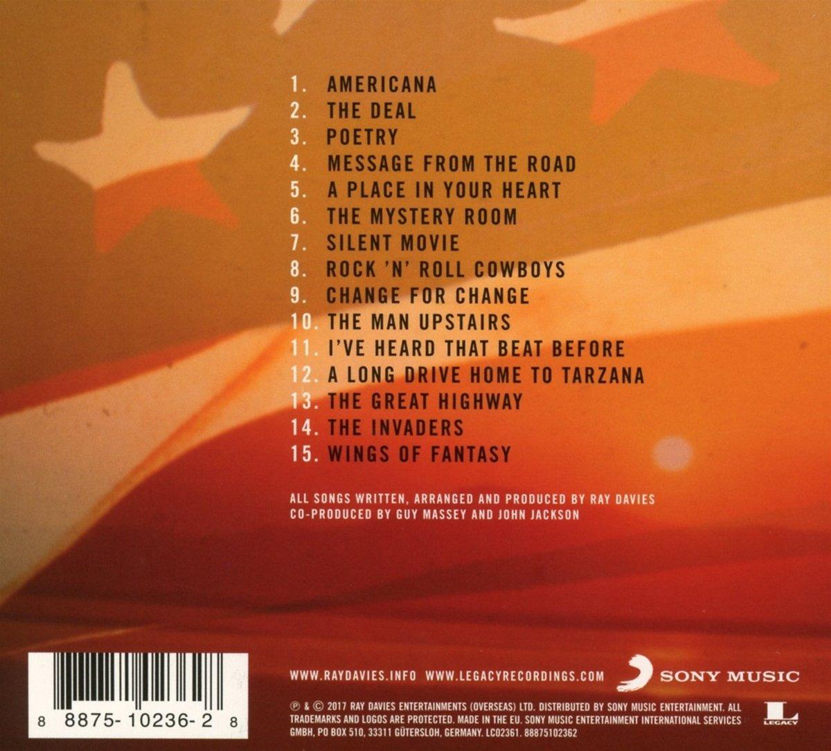 Ray Davies Americana (back)