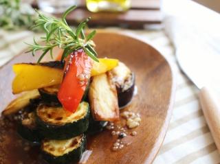 夏野菜のグリルマリネ1